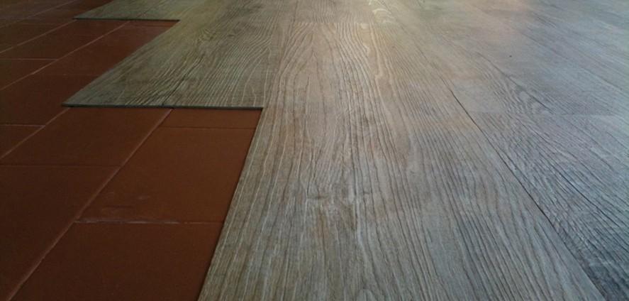 Montaggio pavimento laminato free gallery of parquet in - Costo parquet ikea ...