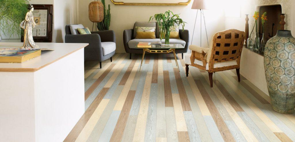 Arredare con parquet gli abbinamenti pi trendy parquet - Cambiare colore mobile legno ...