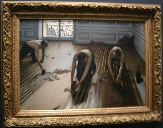 Dipinto di Gustave Caillebotte e conservato al Musee d'Orsay